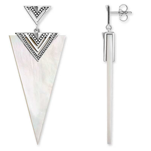 Africa Triangle Ear Studs - TH 1933 MOP