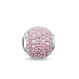 Karma Bead - Flamingo Road Pink- TK0124