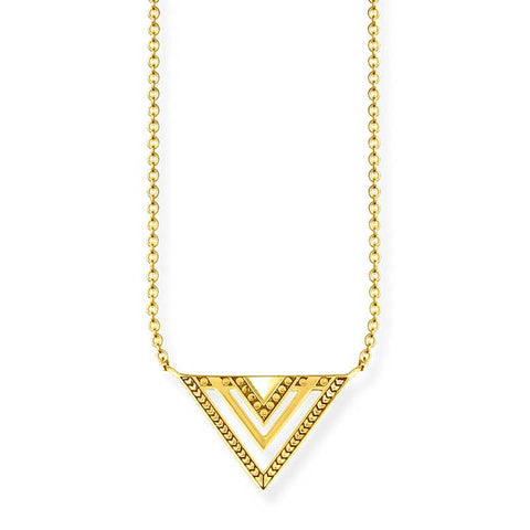 Africa Triangle Necklace - TKE 1568 Y