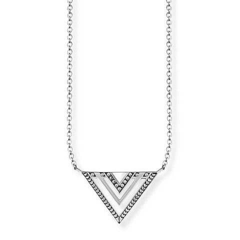 Africa Triangle Necklace - TKE 1568