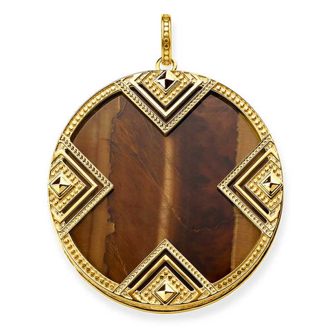 Africa - Tigers Eye Disc - TPE748 TIY