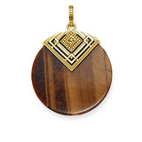 Africa - Tigers Eye Disc - TPE 749 TI Y