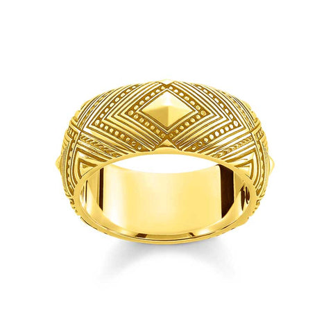 Africa Ornaments Ring - TR 2127 Y