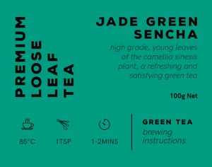 Jade Green Sencha - 100gm