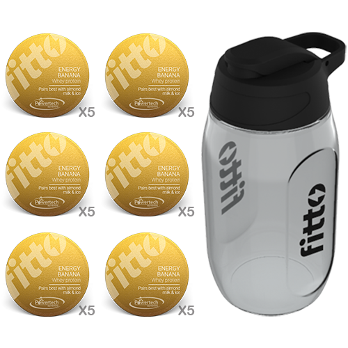 Starter Pack | Protein | Banana - fitto supplements, revolutionizing consumption!
