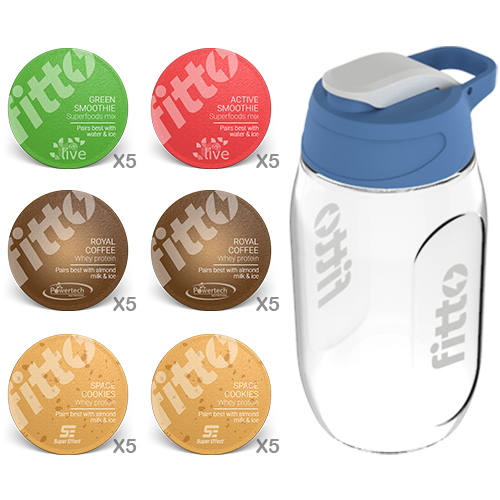 Starter Pack | Combination | Best Seller - fitto supplements, revolutionizing consumption!