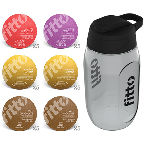 Starter Pack | Combination | Boost - fitto supplements, revolutionizing consumption!