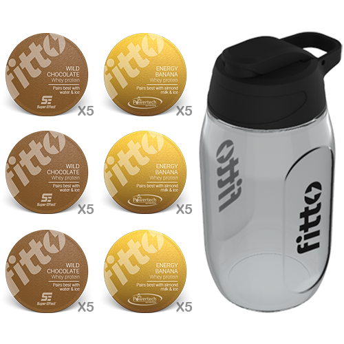 Starter Pack | Combination | Chocolate Banana - fitto supplements, revolutionizing consumption!