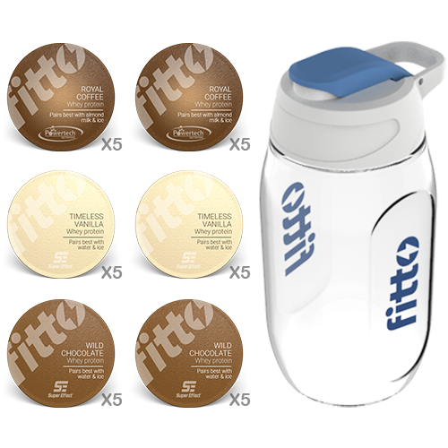 Starter Pack | Combination | Our Choice - fitto supplements, revolutionizing consumption!