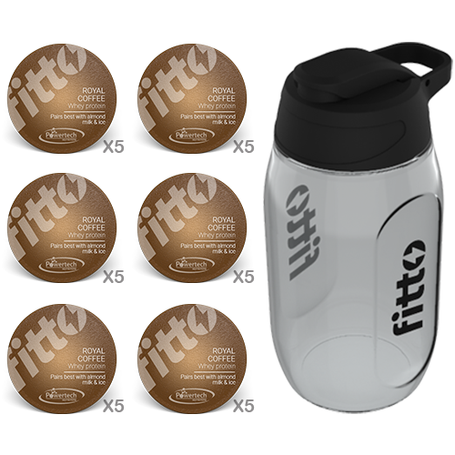 Starter Pack | Protein | Coffee - fitto supplements, revolutionizing consumption!