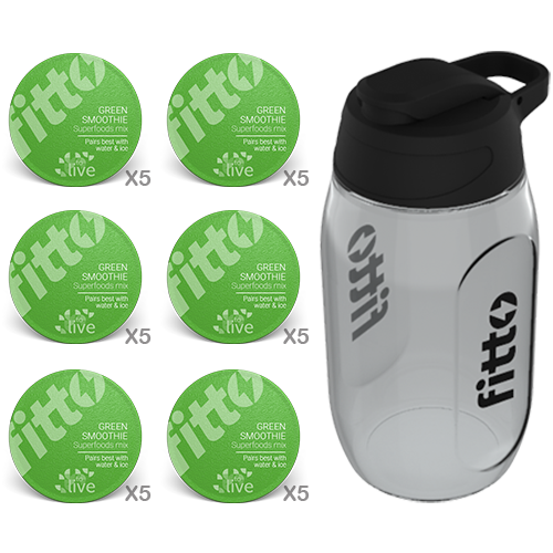 Superfood | Green Smoothie - fitto supplements, revolutionizing consumption!