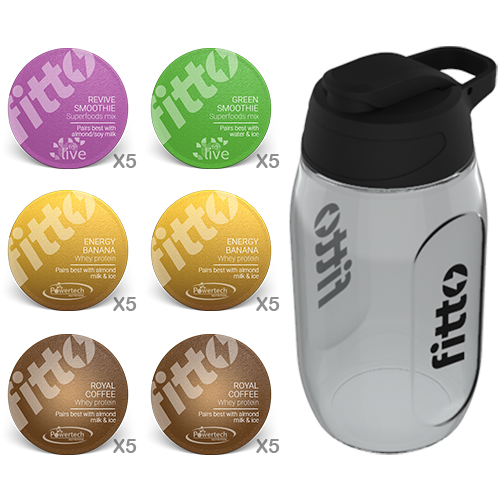 Starter Pack | Combination | Health and Strength - fitto supplements, revolutionizing consumption!