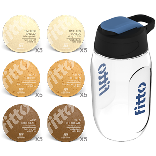 Starter Pack | Combination | Milkshake Combo - fitto supplements, revolutionizing consumption!
