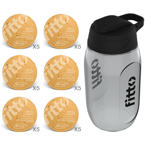 Starter Pack | Protein | Cookies - fitto supplements, revolutionizing consumption!