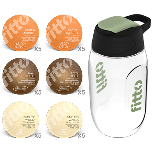 Starter Pack | Combination | Sport - fitto supplements, revolutionizing consumption!