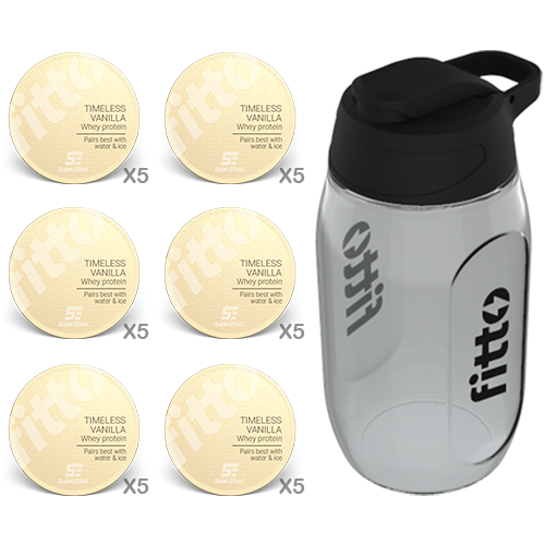 Starter Pack | Protein | Vanilla - fitto supplements, revolutionizing consumption!