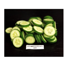 Cucumber Slice With Skin