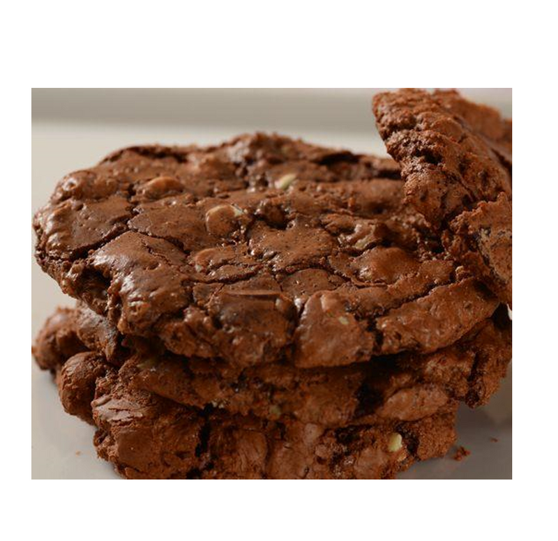Colombian Triple Chocolate Fudge Cookies, 1 kg