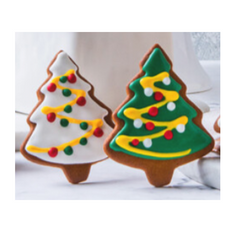 Ginger Bread Chistmas Tree (pack of 3)
