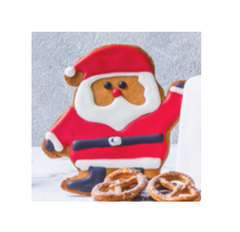Ginger Bread Santa Claus (pack of 3)