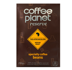Reserve Africa Blend Medium Roast Coffee (Beans) - 250g Bag