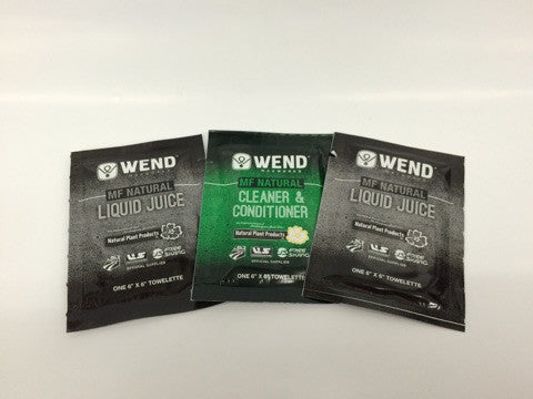 WEND Liquid Juice and MF Cleaner/Conditioner Combo