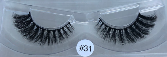 Cruelty free strip lash #31