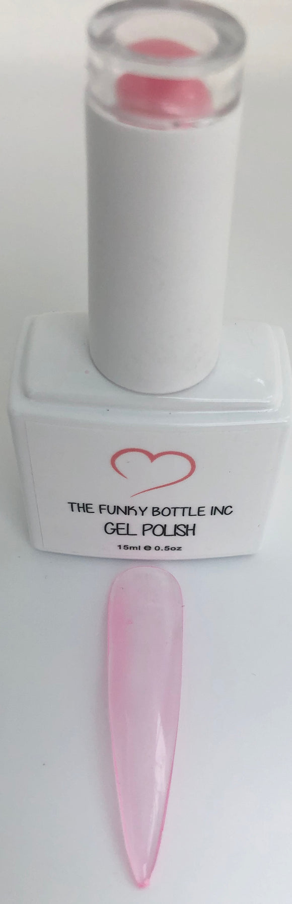 French Pink Gel Polish-SU10