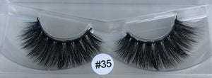 #35 super fluffy strip lashes