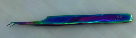 Funky Lash Fine Point L Volume Unicorn Tweezer