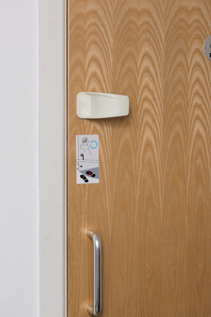 Jamm Hands Free Door Opener installed by Hilwaite