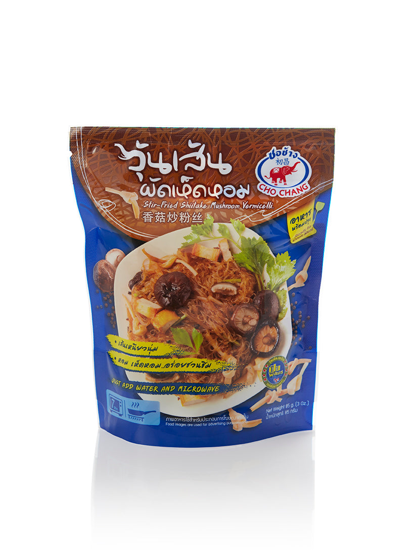 CHO CHANG STIR FRIED SHIITAKE MUSHROOM VERMICELLI (85g) (5 pkt / bundle)