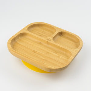 MCK Bamboo Plate - Yellow