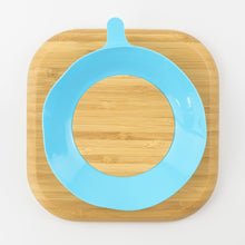 Load image into Gallery viewer, MCK Bamboo Plate - Blue