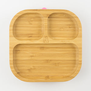MCK Bamboo Plate - Pink