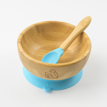 Load image into Gallery viewer, MCK Bamboo Bowl Set - Blue