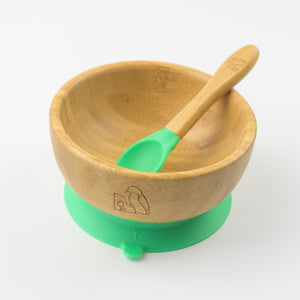 MCK Bamboo Bowl Set - Green