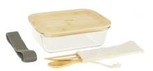 Load image into Gallery viewer, Glass Lunch Box and 3pc Cutlery Set *NEW*