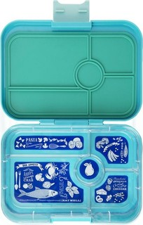 Yumbox™ Tapas - Antibes Blue Bon Appetit 5-Compartments