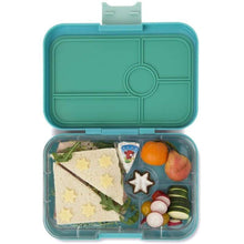 Load image into Gallery viewer, Yumbox™ Tapas - Antibes Blue Flamingo 4-Compartments