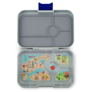 Yumbox™ Tapas - Flat Iron Gray NYC 4-Compartments