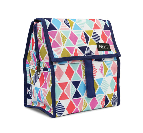 Packit Freezable Festive Gems Personal Cooler – Front View