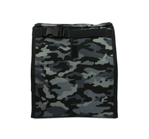 Packit Freezable Charcoal Camo Personal Cooler – Back View