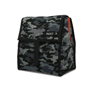 Packit Freezable Charcoal Camo Personal Cooler – Display View
