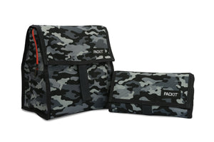 Packit Freezable Charcoal Camo Personal Cooler – Comparison View