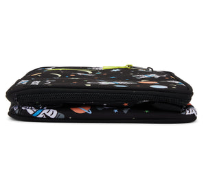 Packit Freezable Spaceman Classic Lunchbox Bag - Collapsed Bottom View