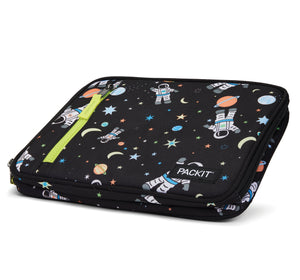 Packit Freezable Spaceman Classic Lunchbox Bag - Collapsed Display View