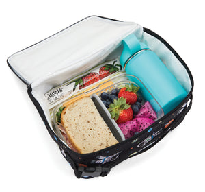 Packit Freezable Spaceman Classic Lunchbox Bag - In-use View