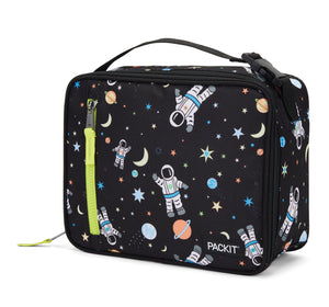 Packit Freezable Spaceman Classic Lunchbox Bag - Front View