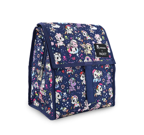 Packit in Tokidoki Print , Unicorno dreams